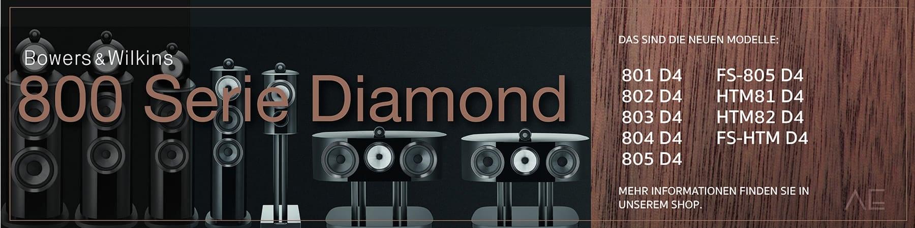 Neuheite Bang&Wilkins 800 Serie Diamond D4